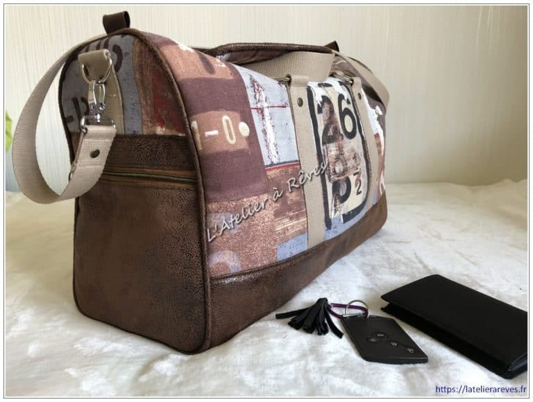 """Le sac de voyage """"Docker"""""""